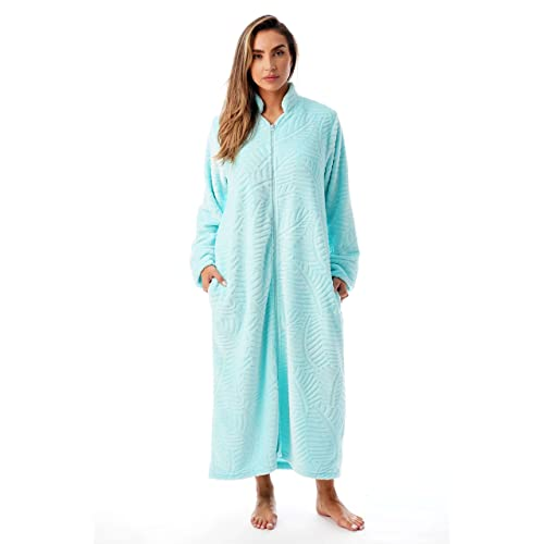 Just Love Plush Zipper Lounger Robe ea22b7d4a