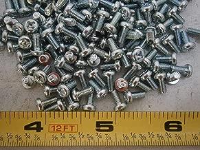 Machine Screws M3 x 6 Phillips Cheese Head Steel Zinc Plated Lot of 100#2999 Screw Assortment Kit Set