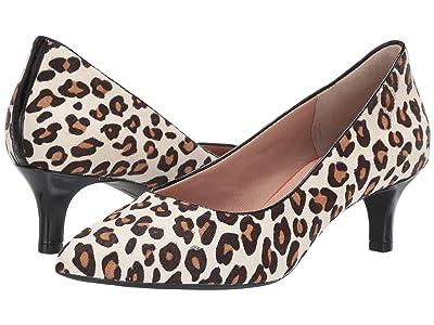 Rockport Total Motion Kalila Pump (White Leopard) High Heels