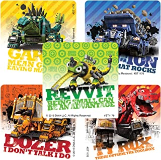 SmileMakers Dinotrux Stickers - Prizes 100 per Pack - from