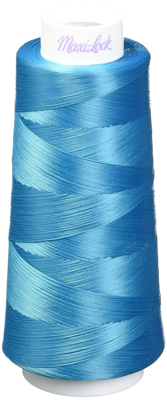 American & Efird AME54.32265 Radiant Turquoise Maxi Lock Stretch Thread, 2000yd
