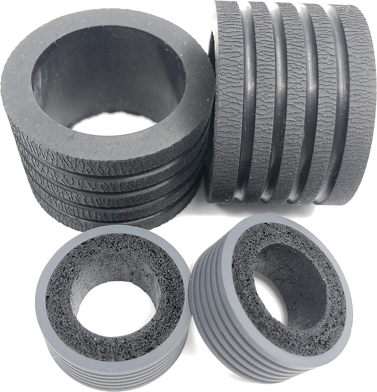 OKLILI 1SET 0697C003AA 0697C003 Exchange Roller Tire Kit Compatible with Canon DR-C240 DR-M160 DR-M160II C240 M160 M160II Scanner