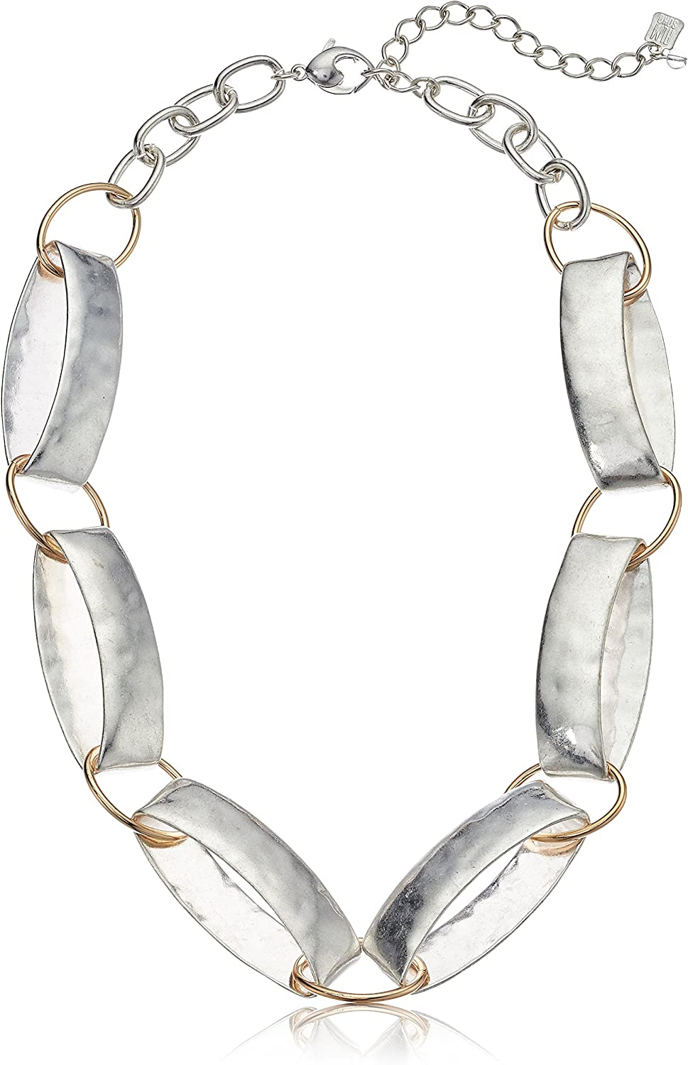 Robert Lee Cheap mail order sales Morris Memphis Mall Women's Silver Strand Link Necklace Collar On