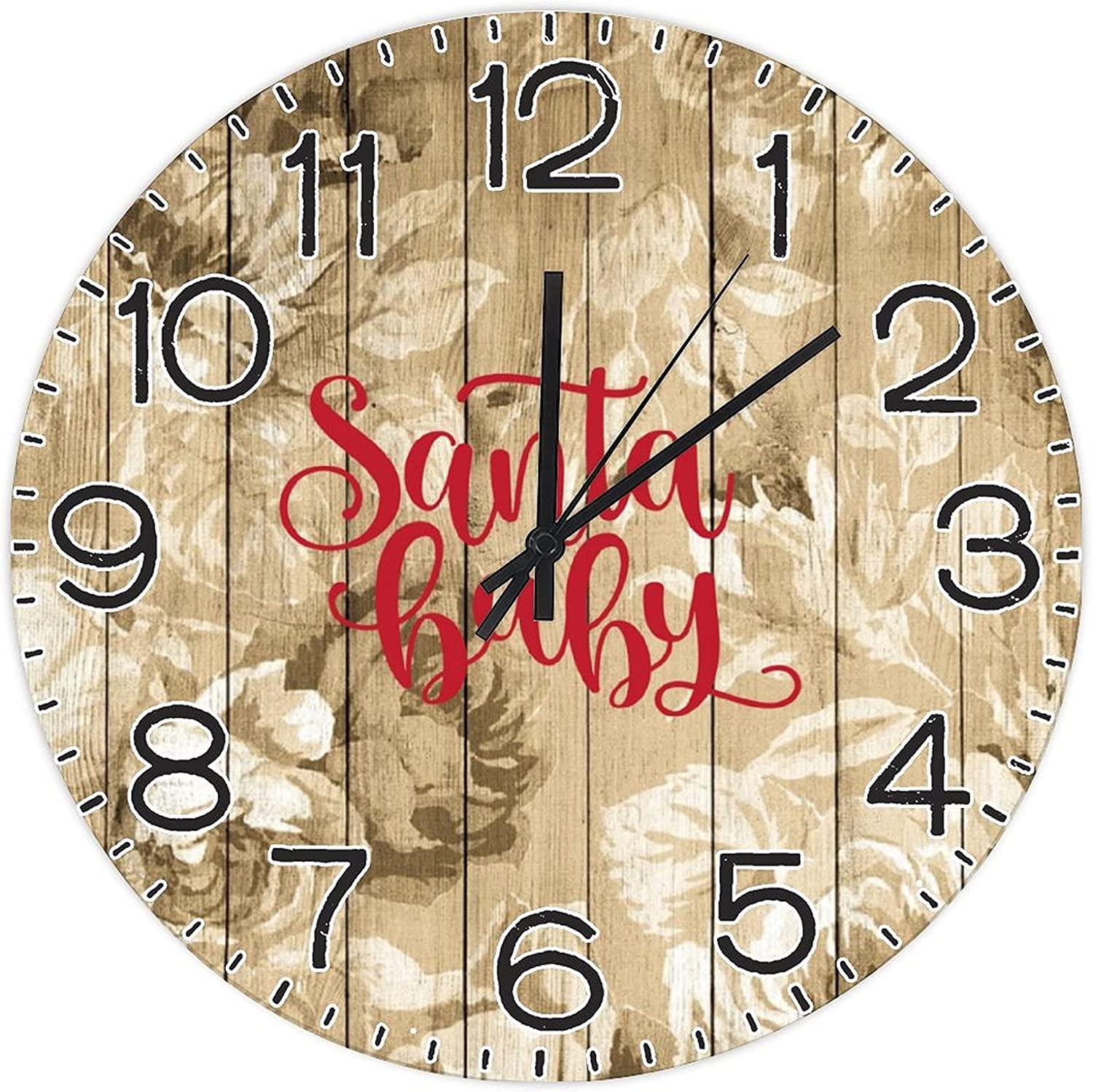 Challenge the lowest price of Japan by Unbranded Decorative Ranking TOP9 Wall Baby Clock Santa