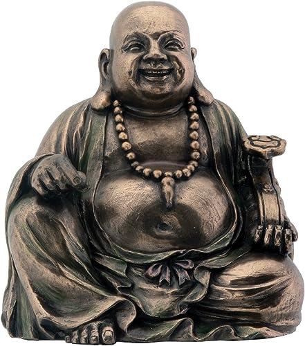 Summit Bronze Hotei Buddha Lachen Buddhismus Figur Dekoration