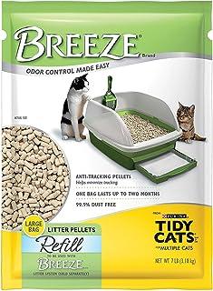 Tidy Cats Breeze Pellets - 7 lbs XL Bag 3-Pack
