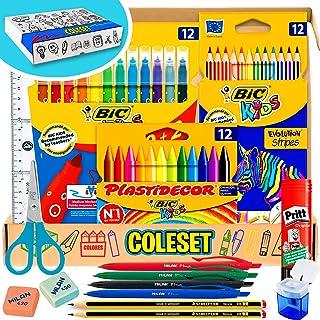 Coleset Pack Material Escolar Primaria Set Vuelta al Cole Kit Escolar Infantil Lote Materiales Escol