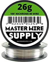 26 gauge nichrome wire resistance
