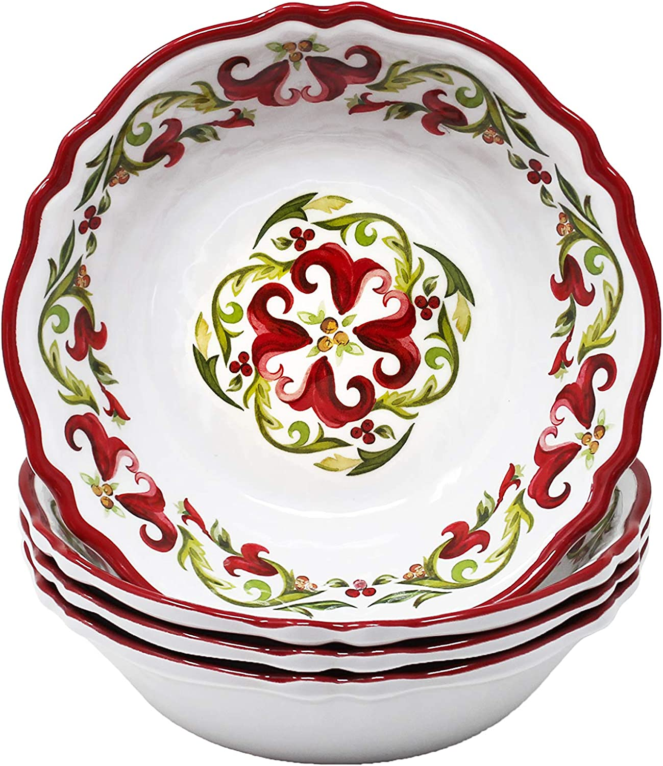 Le Cadeaux Vischio Holiday Collection Set Recommendation Bowl Melamine Cereal Outstanding