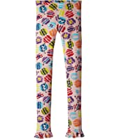 Fendi Kids - Fur Monster Print Leggings (Big Kids)