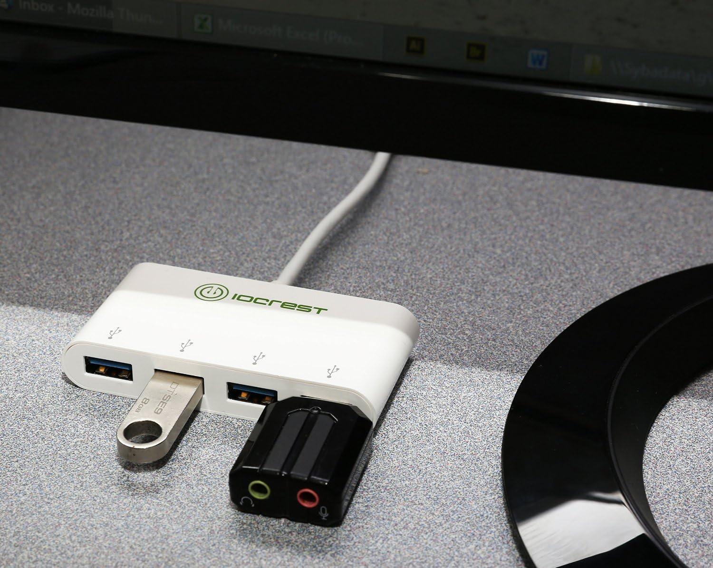 USB-C 3.1 Gen 1 to 4-Port USB 3.0 Hub, Portable USB 3.0 4 Type-A Hub SY-HUB20204