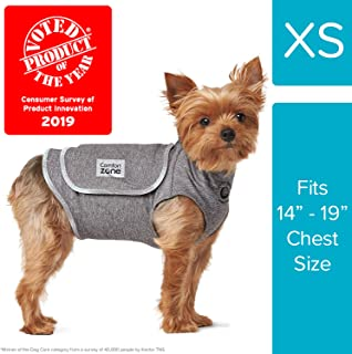 Comfort Zone Calming Vests for Dogs, for Thunder & Anxiety, x Small (14-19