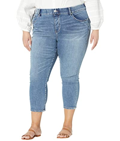 Jag Jeans Plus Size Valentina High-Rise Pull-On Skinny Crop Jeans (Fire Island) Women
