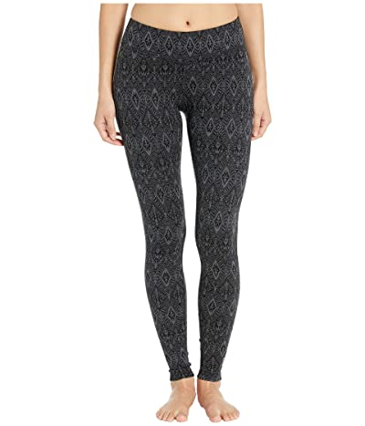 Smartwool Merino 250 Base Layer Pattern Bottoms (Black Medallion) Women