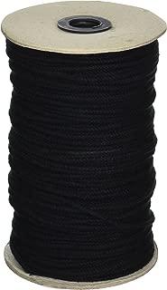 All Line Rope 600' Black Unglazed 1/8 Tie Line