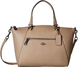 COACH - Polished Pebbled Leather Prairie Satchel