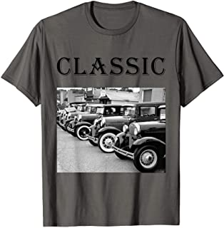 Father's Day Antique Car Classic Car Tee Shirt
