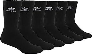 adidas Originals Men's Trefoil Crew Socks (6-Pair)