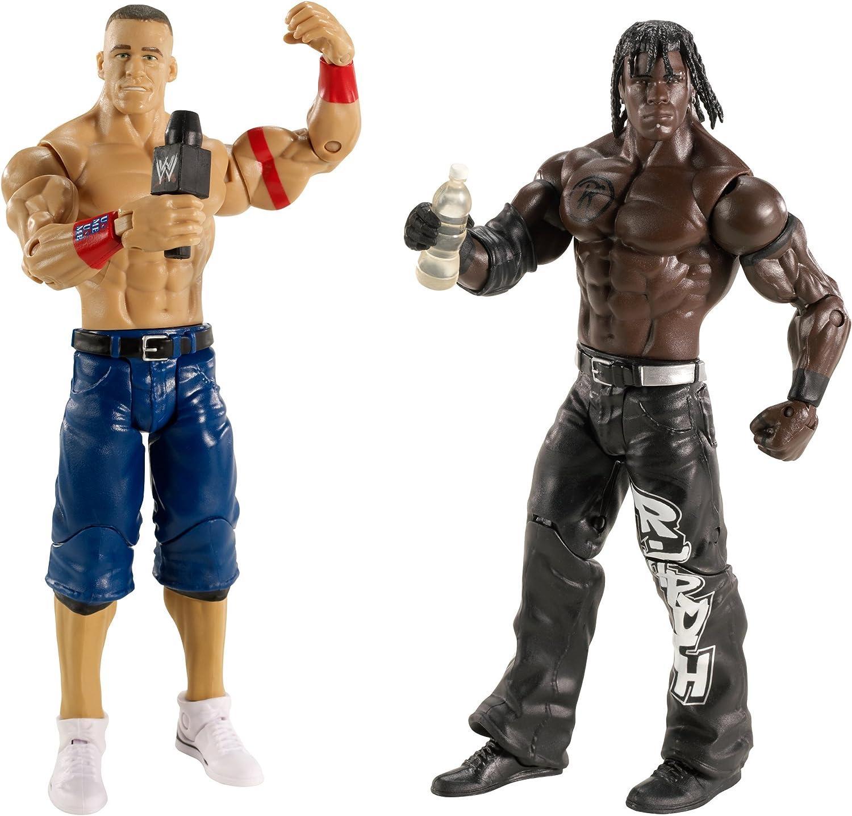 WWE 2 Pack Series 13 Battle Pack Pack Series 13 Rtruth vs John Cena Wrestling Action Figures