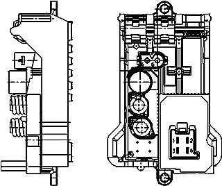 Behr Hella Service 351321141 Premium HVAC Blower Regulator Mercedes Benz Applications