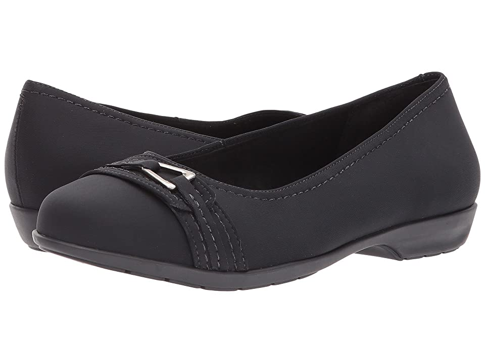 Walking Cradles Flynn (Black Stretch Fabric) Women