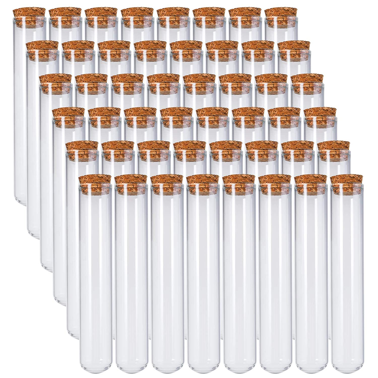 Bekith 48pcs 45ml Glass Test Tubes Portland Mall 25x140mm Stoppers with Max 52% OFF Cork