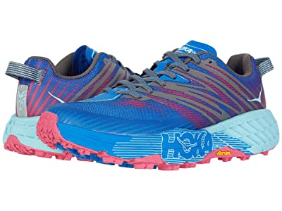 Hoka One One Speedgoat 4 (Imperial Blue/Pink Peacock) Women