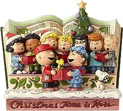 jim shore peanuts christmas storybook