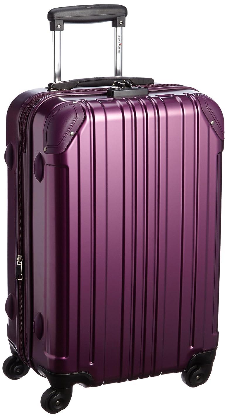 隣接する扇動宿る[レジェンドウォーカー] スーツケース ジッパー 保証付 46L 3.5kg 5022-55