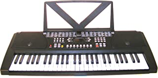 Huntington KB54 54-Key Portable Electronic Keyboard, Black