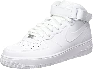 reputable site 6ff03 7cb89 Nike Mens Air Force 1 Mid 07 Trainers
