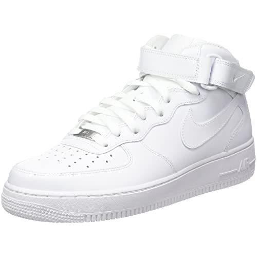 quality design 6cd5a b06a9 Nike Men s Air Force 1 Mid 07 Trainers