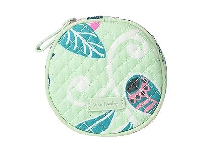 Vera Bradley Hair Accessories Kit (Mint Flowers) Wallet