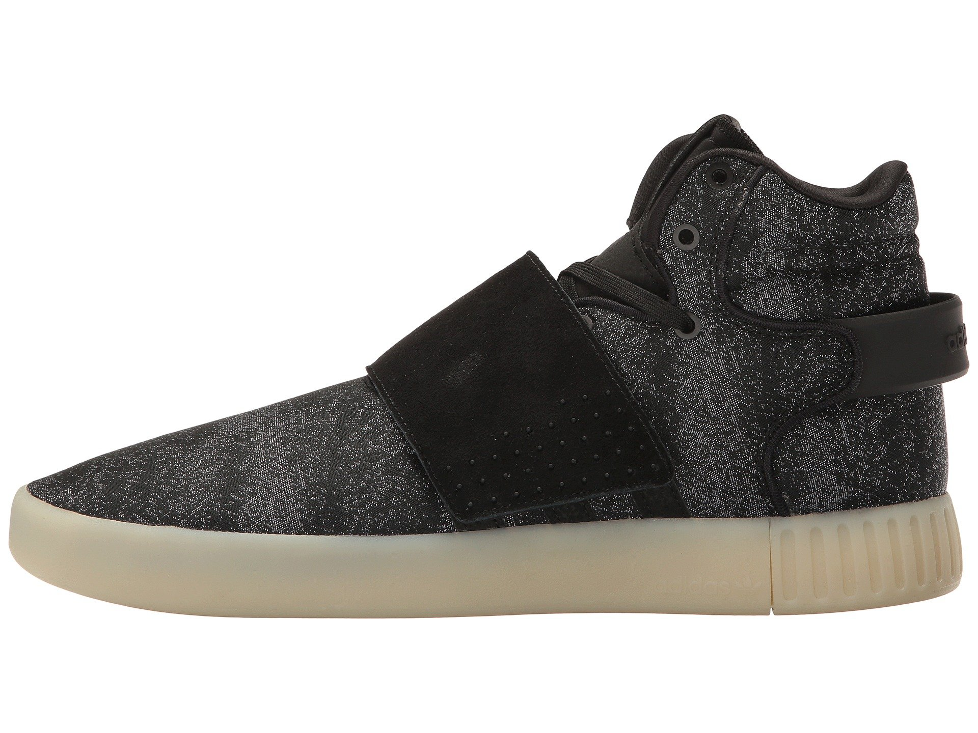 Men's adidas Originals Tubular Invader Strap Shoes Bw0873 Maroon
