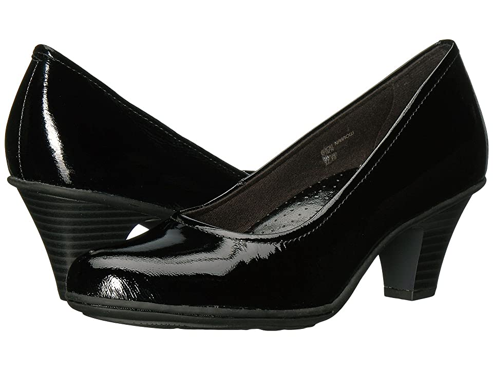 Earth Bijou (Black Tumbled Patent) High Heels