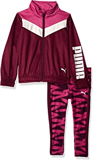 PUMA Little Girls' 2 Piece Tricot Set