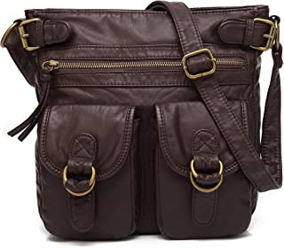 soft leather over the shoulder bag