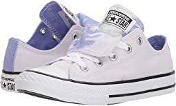 Chuck Taylor All Star Double Tongue Palm Trees Ox (Little Kid/Big Kid)