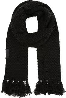 Diesel Men's K-Vishal Knit Scarf TU Black