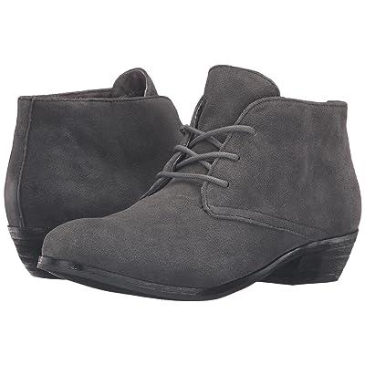 SoftWalk Ramsey (Dark Grey Cow Suede Leather) Women