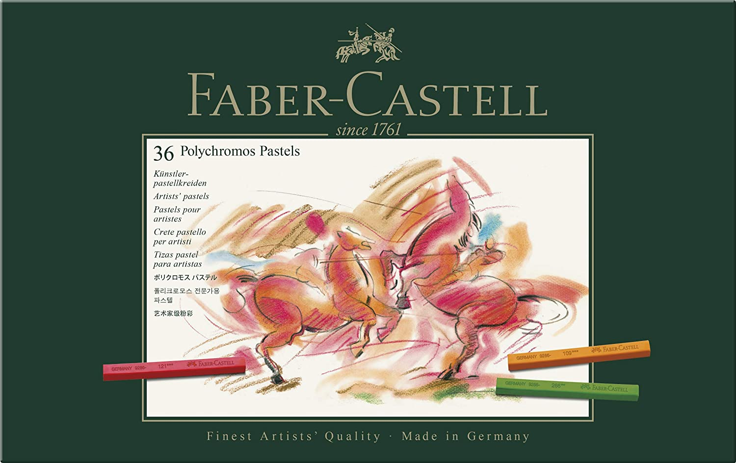 Faber-castell Polychromos Special price for a limited time Artists Raleigh Mall Pastels 36 Box Of
