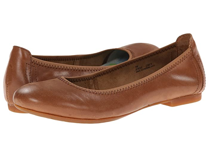 Born  Julianne (Mid Brown) Womens Flat Shoes