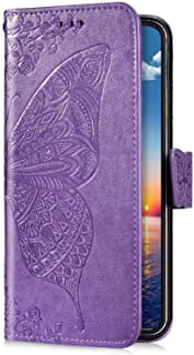 Uposao Compatibel Samsung Galaxy S10 vlinder, lila