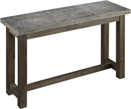 Concrete Chic Brown/Gray Console Table by Home Styles