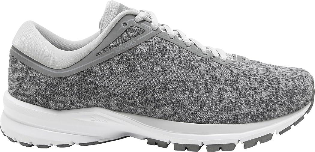 不純添付間隔[ブルックス] レディース 女性用 シューズ 靴 スニーカー 運動靴 Launch 5 - Grey/Microchip/White [並行輸入品]