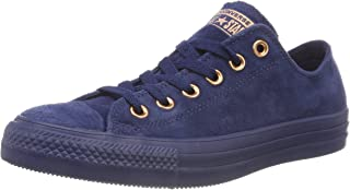Converse Unisex Adults' CTAS Ox Navy/Cherry Blossom Trainers