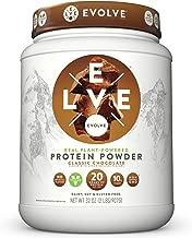 Evolve Protein Powder, Classic Chocolate, 20g Protein, 2 Pound