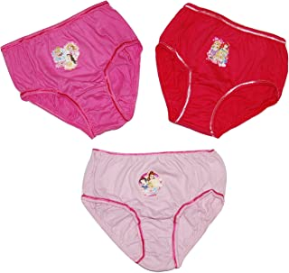 KZKR 2 Pack Girls Knickers for Age 1-9 Comfortable and Breathable Fabric Child Panties 100/% Cotton Soft Kid Underwear for Little Girl