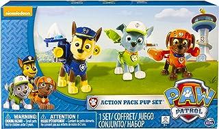 Spin Master Paw Patrol 6024061 Chase, Rocky, Zuma Action Pack Pup Figuren, Set van 3, Meerkleurig
