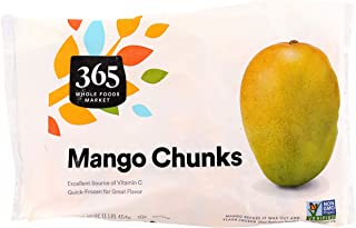 365 by Whole Foods Market, Frozen Fruit, Mango - Chunks, 16 Ounce